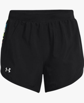Women's UA Fly-By 2.0 Floral Shorts